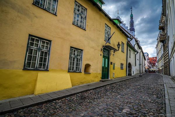 Streetscene Tallinn
