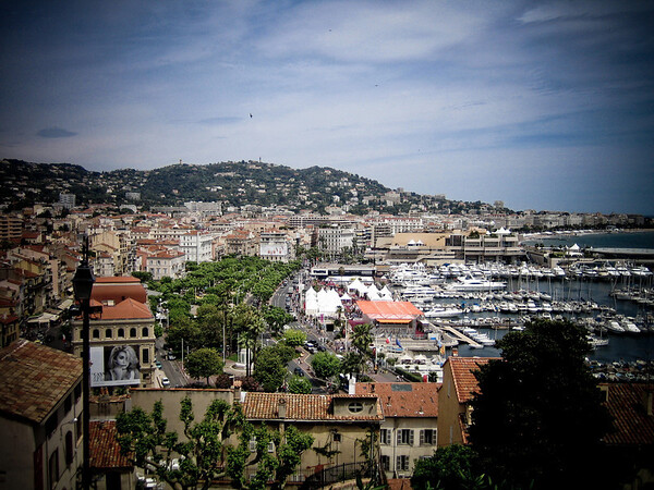 Cannes during Film Festival