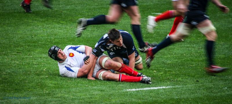 France v Scotland Six Nations Rugby International March 2007