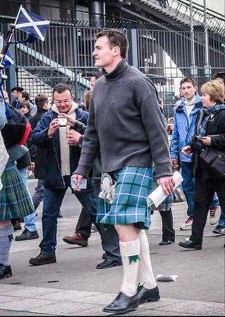 Kilted Scotland Team Supporter