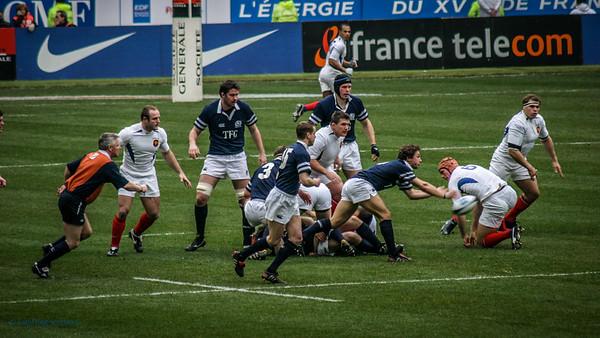 FRANCE V SCOTLAND  PARIS SEVEN NATIONS 2005