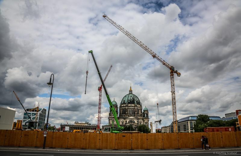Berlin - Restoration &  Building Site