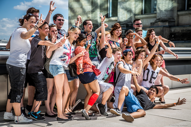 Reichstag Tourists