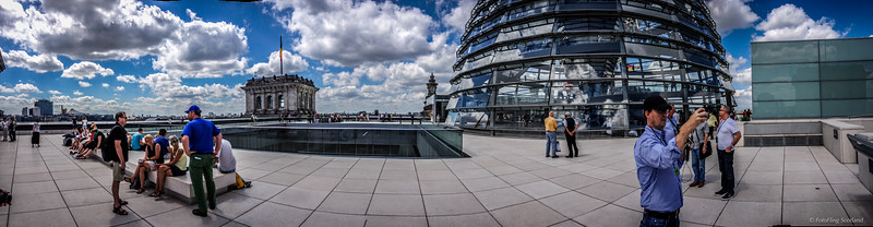 Roof of Reichstag