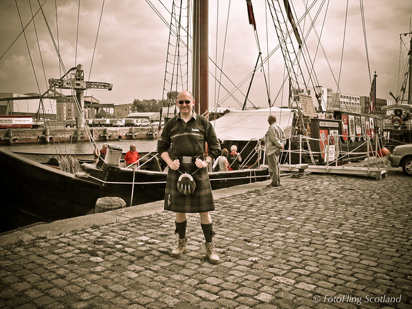 Kilting in Bremerhaven