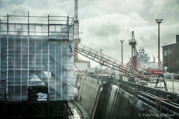 Dry Dock at Bremerhaven