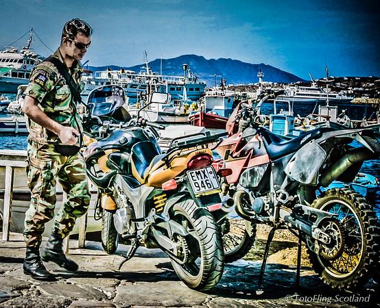 Mykonos Biker