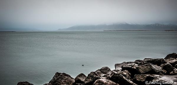 View from Reykjavik