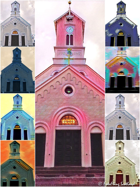 Reykjavik Cathedral Collage