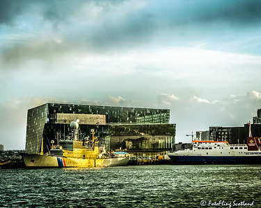 Harpa Concert Hall & Reykjavik Harbour