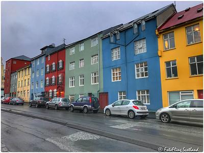Painted Houses, Reykjavik