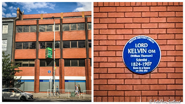 Plaque:  Lord Kelvin (William Thomson)