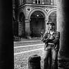 Tourist in Bologna