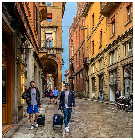 Chums in Bologna