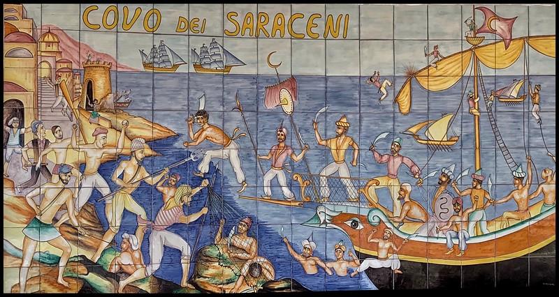 Covo dei Saraceni - wall art