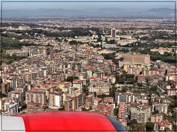 Flying over Naples