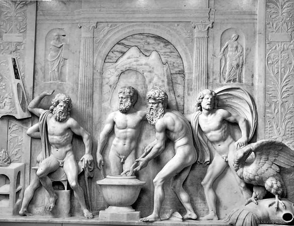 Artwork in The Castello Estense