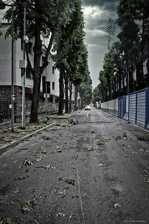 Stormy Day in Ferrara