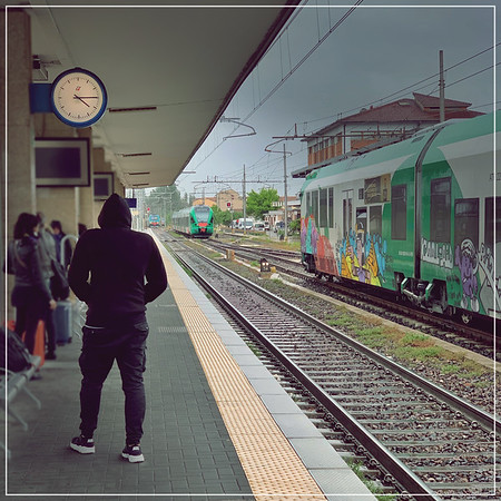 A Hoodie at the Station
