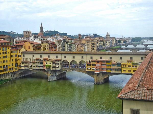 View from Uffizi Gallery, Florence