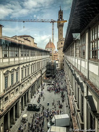 View from the Uffizi Gallery