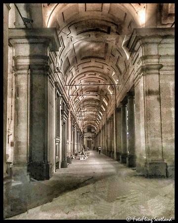 The Uffizi Gallery at Night