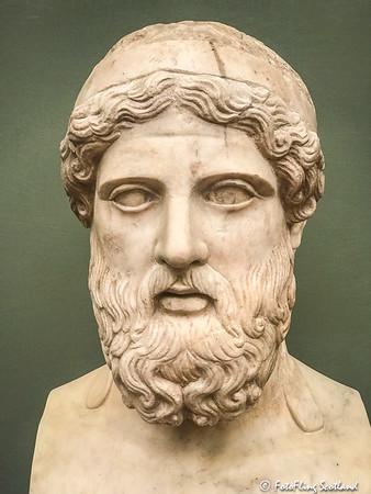 Portrait of the poet Anacreon  (1st-2nd century AD)