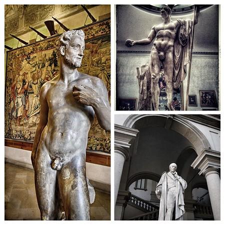 Mensculpture in Milan
