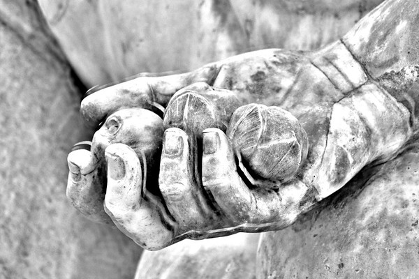 The Farnese Hercules (detail)
