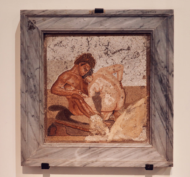 Pompeii - Satyr and Nymph