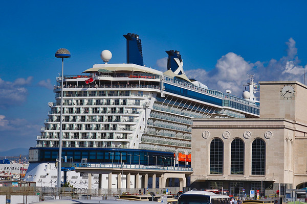 Cruise Ship Docks Discretely