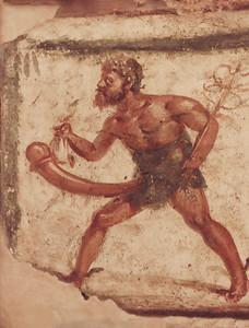 Pompeii - Mercurius-Priapus