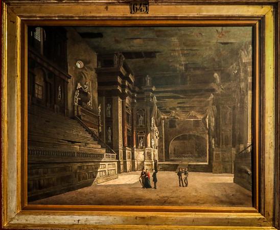 Teatro Farnese by Giovanni Contini  pre 1867