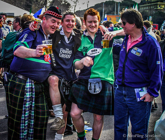 Scottish Rugby Fans