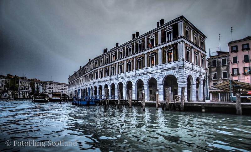 Arrival in Venice
