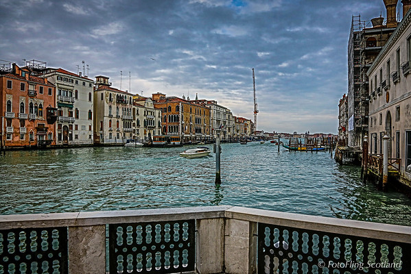 View from Peggy Guggenheim Gallery, Venice