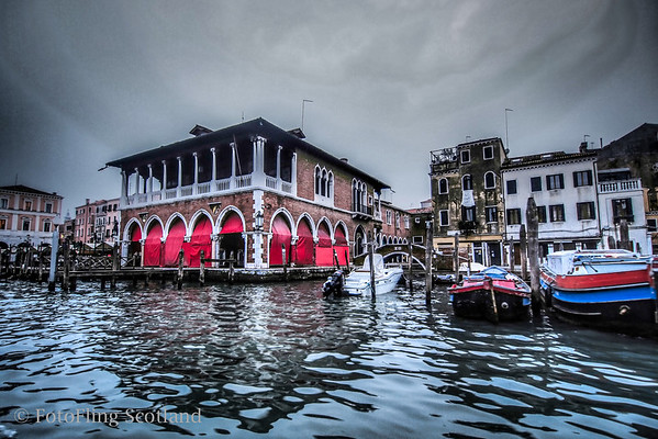 Venice - Arrival by Water Taxi