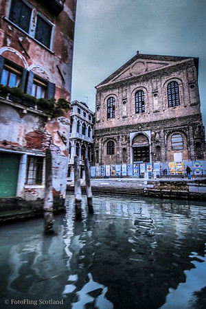 Venice - Arrival by Boat