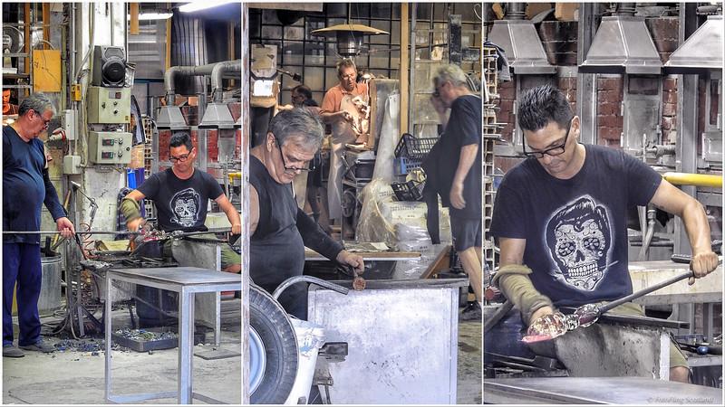 Glass Making in Murano
