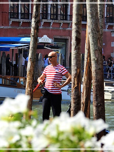 The Passing Gondolier