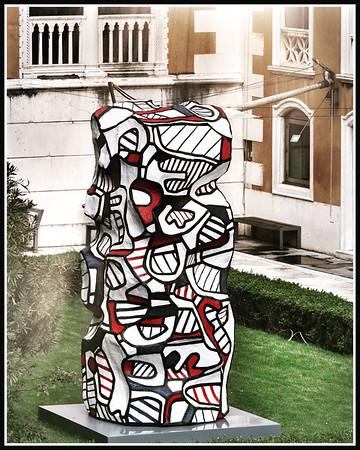 Jean Dubuffet e Venezia #palazzofranchetti #jeandubuffet #biennalearte2019 #venice