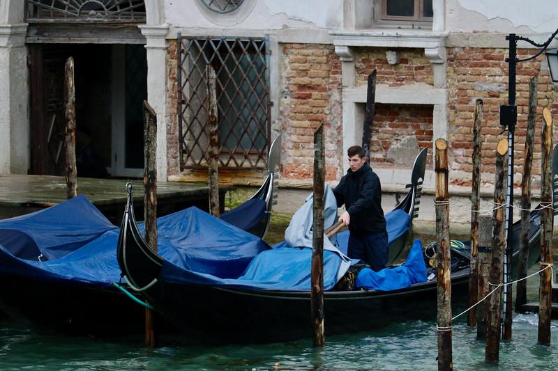Packing up the Gondola