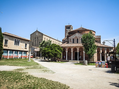 Santa Maria Assunta (left) and Santa Fosca (right)