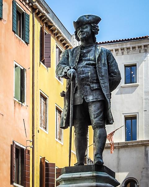 Statue of  Carlo Goldoni