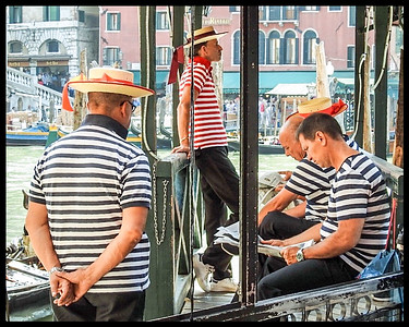 Off Duty Gondoliers