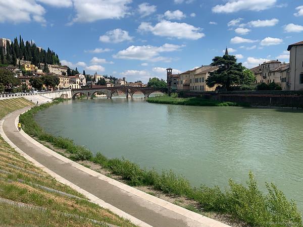 River Adige, Verona