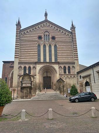 The Church of Saint Fermo, Verona