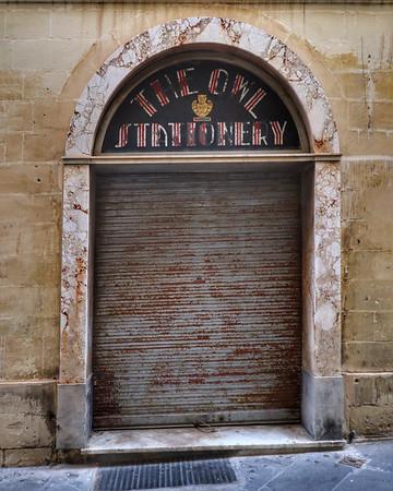 Valletta Doorway