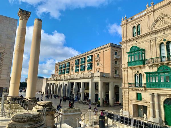 Pillars of Royal Opera House