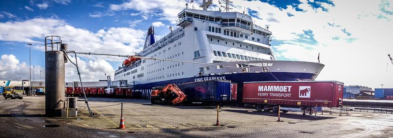 King Seaways - Ferry To Newcastle